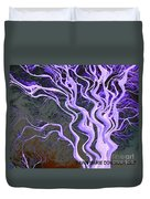 Purple Tree Duvet Cover