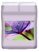 Purple Veins Duvet Cover