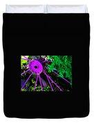 Purple Wheel Duvet Cover