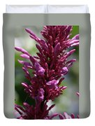 Purple Wildflower Duvet Cover