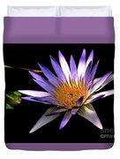 Purple Zen Duvet Cover