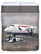 Push Back 747 Style London Duvet Cover