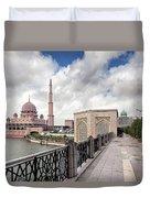 Putra Mosque Duvet Cover