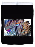Pvc Abstract Duvet Cover
