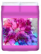 Powerfully Pink Duvet Cover
