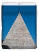 Pyramid Of Caius Cestius Duvet Cover