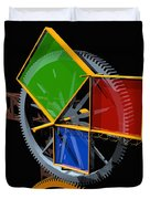 Pythagorean Machine Duvet Cover