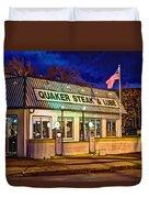 Quaker Steak And Lube Duvet Cover