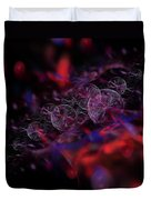 Quantum Bubbles Duvet Cover