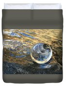 Orion With Blue And Gold Duvet Cover