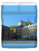 Quebec City 46 Duvet Cover