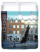 Quebec City 48 Duvet Cover