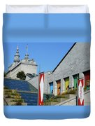 Quebec City 53 Duvet Cover