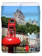 Quebec City 58 Duvet Cover
