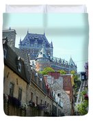 Quebec City 61 Duvet Cover