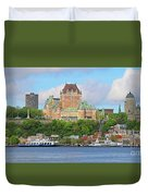 Quebec City  6326 B  Duvet Cover
