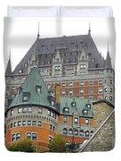 Quebec City 65 Duvet Cover