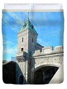 Quebec City 72 Duvet Cover
