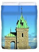 Quebec City 74 Duvet Cover