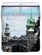 Quebec City 81 Duvet Cover