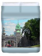 Quebec City 82 Duvet Cover