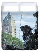 Quebec City Detail 40 Duvet Cover