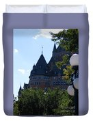 Quebec City Duvet Cover