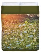 Queen Anne At Sunset Duvet Cover