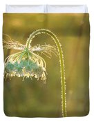 Queen Anne's Lace In Evening Duvet Cover