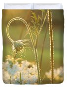 Queen Anne's Lace Sunset Duvet Cover