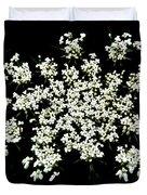 Queen Anne's Lace Wildflower - Daucus Carota Duvet Cover