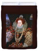 Queen Elizabeth I, C1588 Duvet Cover