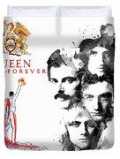 Queen Forever Remix II Duvet Cover