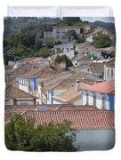 Queen Isabella's Castle Portugal Duvet Cover