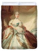 Queen Juliane Marie Of Denmark Duvet Cover