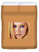 Queen Lavigne Duvet Cover