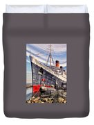 Queen Mary Ghost Ship Duvet Cover