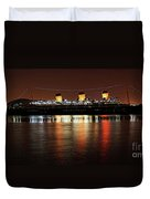 Queen Mary Panorama  Duvet Cover