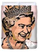 Queen Of Diamonds Duvet Cover