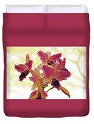 Queen Of Orchids Duvet Cover