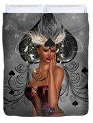 Queen Of Spades Duvet Cover