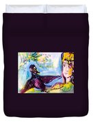 Queen Of The Crows Duvet Cover
