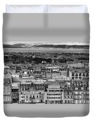 Queen Street To The Forth Duvet Cover