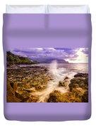 Queen's Bath Princeville Kauai 2015 Duvet Cover