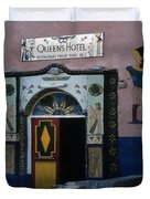 Queen's Hotel Habou Egypt Duvet Cover