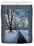 Queen's Park Pathway Duvet Cover