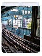 Queens Rails Duvet Cover