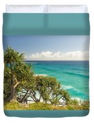 Queensland Coastline Duvet Cover