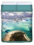 Queensland Island Bay Landscape Duvet Cover