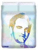 Quentin Tarantino Duvet Cover by Naxart Studio